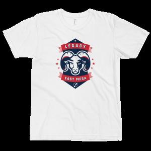 LTS East Mesa Rams White Logo T-shirt 2020